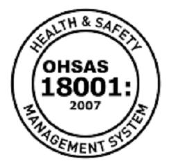 OHSAS 18001 Certificed